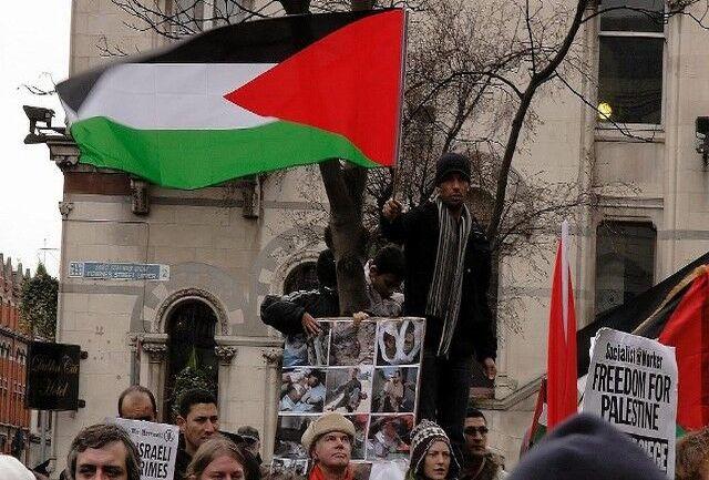حامیان فلسطین در بلژیک ، علیه خشونت و اشغالگری اسرائیل تظاهرات کردند