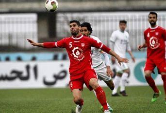 دیدار تیم های فوتبال سپیدرود رشت _ ماشین سازی تبریز