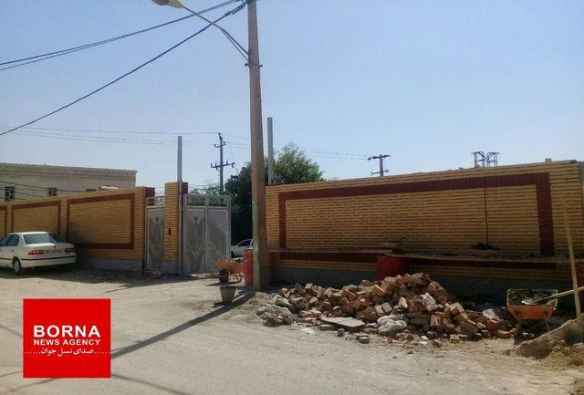 بازسازی  مدارس آسیب دیده از سیل  پلدختر تا نیمه دوم شهریور ماه