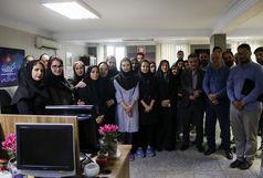 حضور معاون توسعه مدیریت و منابع وزارت ورزش و جوانان در خبرگزاری برنا