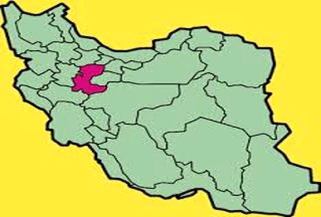 رنگ بندی کرونایی شهرستانهای استان مرکزی تا 20 دی 99