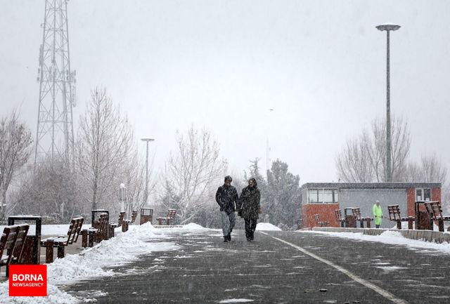 برف و باران در راه استان اصفهان