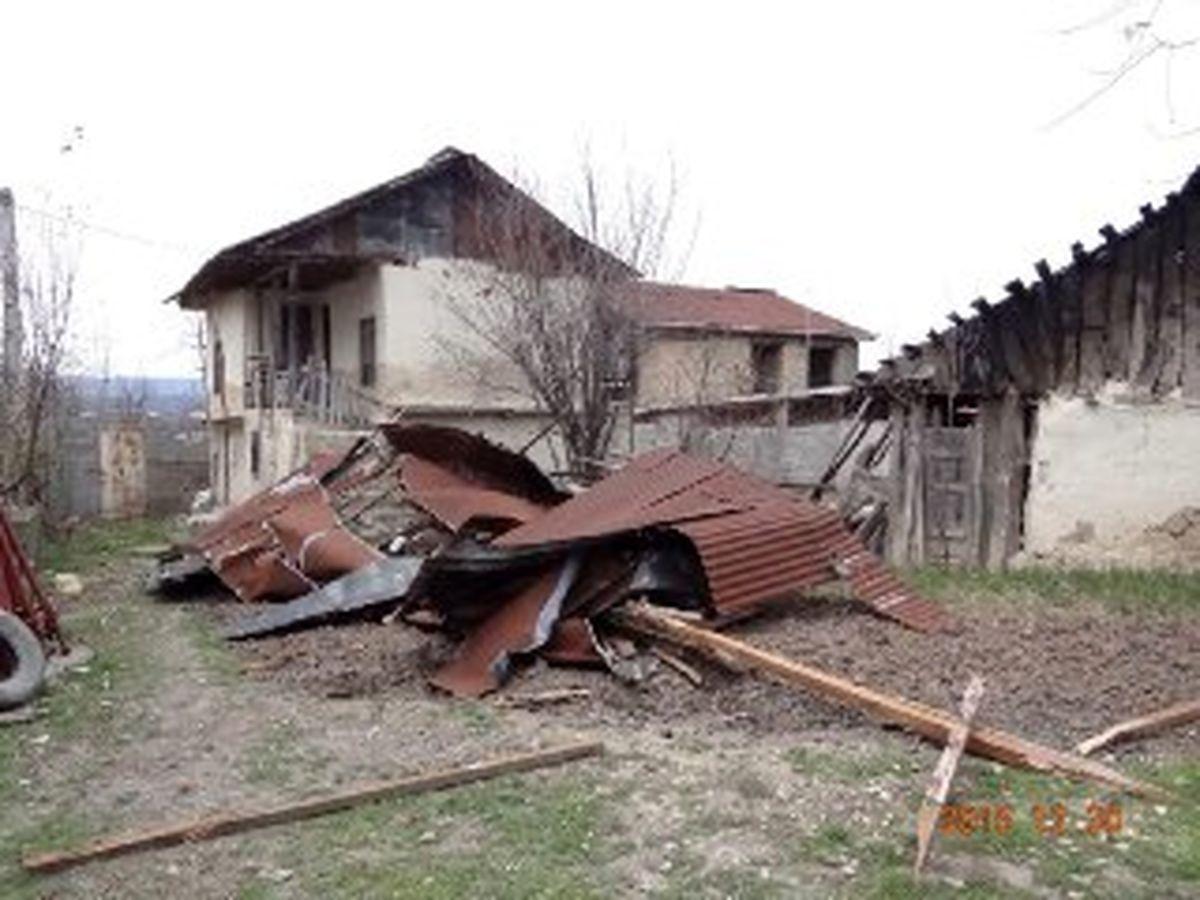 طوفان شاهین یک نفر را کشت