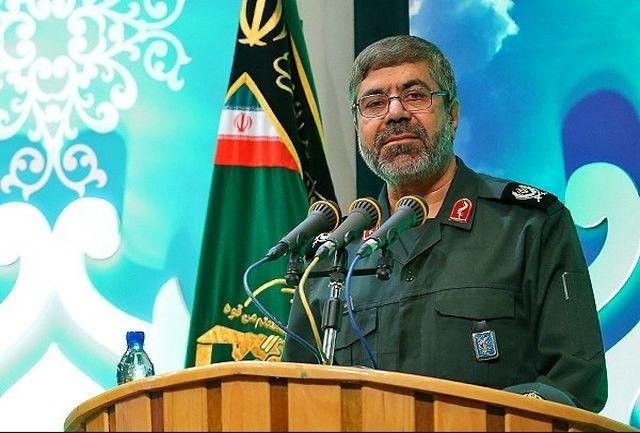 علت شهادت سردار حجازی از زبان سخنگوی سپاه