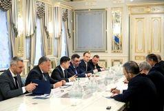 پیام روحانی تسلیم رییس جمهور اوکراین شد