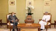 رایزنی مشاور ارشد وزیر خارجه در امور ویژه سیاسی با وزیر خارجه عمان