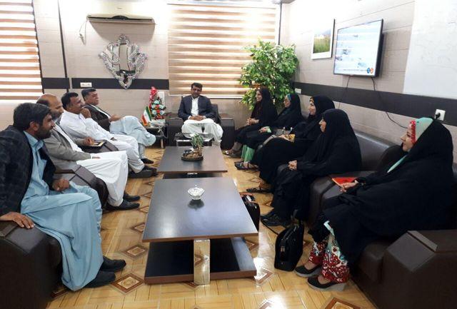نخستین زن رئیس اداره امور عشایری کشور در نیکشهر معرفی شد