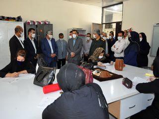 بهره برداری از ۵ کارگاه مهارت آموزی بازار محور در مسجدسلیمان