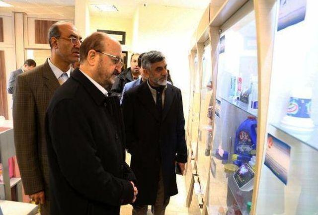 بازدید رییس ستاد مبارزه با قاچاق از نمایشگاه صنایع قزوین