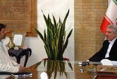 دیدار سهرابیان با معاون رئیس جمهور