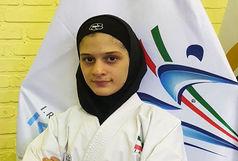بانوی کاراته کای قزوینی در اردوی تیم ملی
