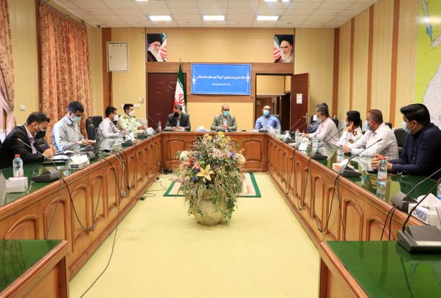 جلسه ستاد مدیریت بیماری کرونای شهرستان بندرعباس برگزار شد