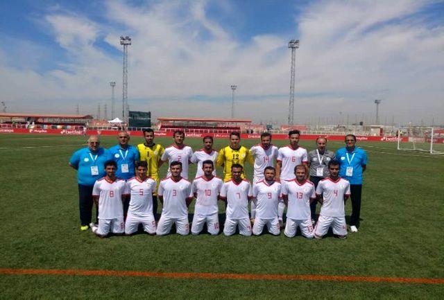 فوتبالیستهای ایران با گلباران فنلاند به جمع 8 تیم برتر دنیا رسیدند