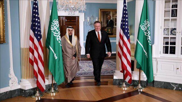 وزرای خارجه آمریکا و عربستان درباره ایران گفتوگو کردند