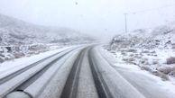 مهگرفتگی و برف پدیده غالب جاده های استان مرکزی