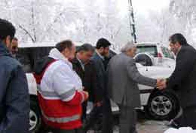 فلاح لحظه به لحظه در کنار مردم و امدادگران