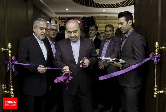 مراسم افتتاحیه سالن همایشهای بینالمللی استاد فارسی برگزار شد