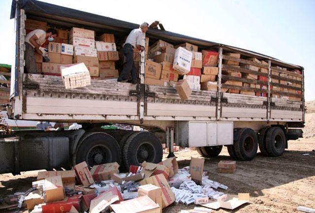 توقیف 32 میلیارد ریال کالای قاچاق در مرزهای هرمزگان