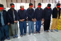 ۳ باند مسلح  آدم ربایی شناسایی و منهدم شد