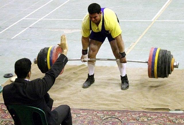 قهرمانی کبودراهنگ در مسابقات ددلیفت استان همدان