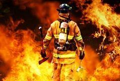 آتش سوزی در کارخانه فروسیلیس سمنان مهار شد