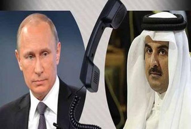 رایزنیهای پوتین و امیر قطر درباره برگزاری جام جهانی فوتبال