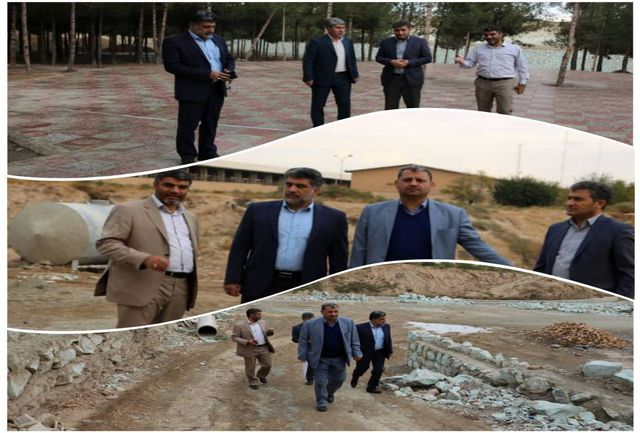 بازدید اعضای شورای اسلامی شهر و شهردارنسیم شهر از پروژه های عمرانی شهرداری