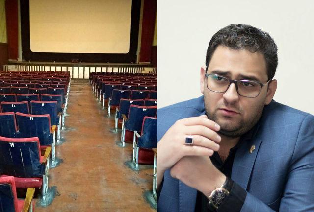 بازسازی کامل یک سالن 500 نفره و احداث سالن دوم در «سینما ایران»