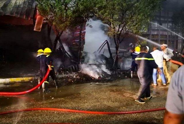 جزئیات آتشسوزی در نزدیکی حرم امام حسین(ع)/ دونفر جان باختند