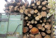 کشف 7 تن چوب قاچاق در املش
