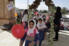 زنگ نمادین شکوفه ها در آموزشگاه ابتدایی توفیق ناحیه یک زنجان به صدا در آمد