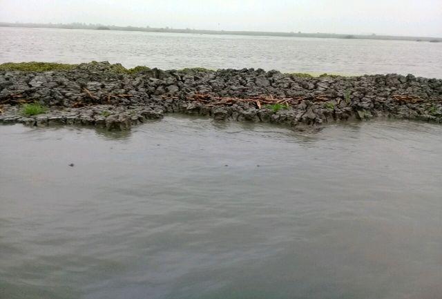 بیشترین میزان بارش باران گیلان در بندر انزلی