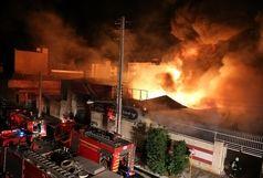 جزئیات آتش سوزی مهیب در کارخانه شهرک صنعتی اشترجان