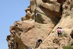 تصاویر نفس گیر از نجات یک کوهنورد از ارتفاعات انداد + عکس