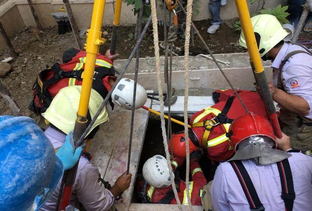 مرگ یک کارگر در چاه محله دزاشیب تهران