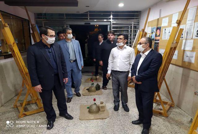برگزاری نمایشگاه و جشنواره جوان و دفاع مقدس در ارومیه ادامه دارد