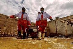 تداوم امدادرسانی در سیلِ ۶۱ شهرستان کشور/ نزدیک به ۵۰۰۰ نفر امدادرسانی شدند