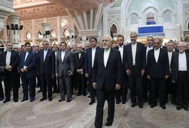 تجدید بیعت ظریف با آرمان های امام راحل