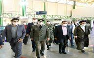 افتتاح خط تولید انواع تایر تاکتیکی و رادیال در صنایع دفاع دورود