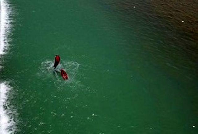 غرق شدن مرد ماهیگیر در کانال آب