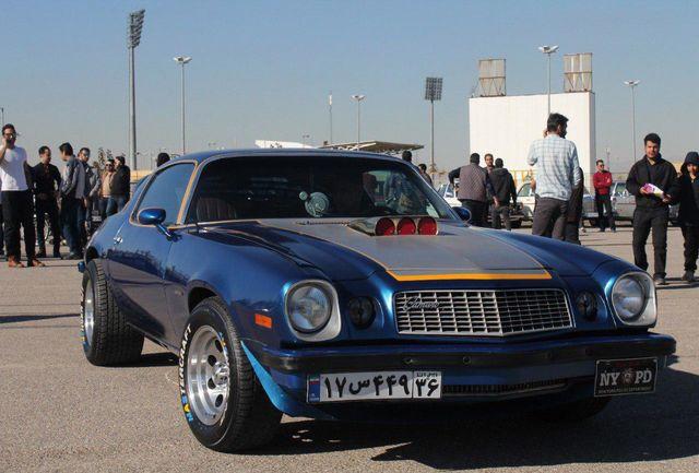 برگزاری همایش خودروهای کلاسیک، قدیمی و آنتیک در مشهد