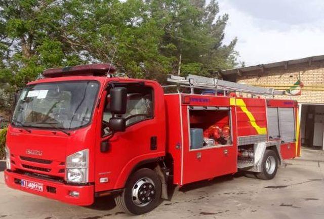 خرید سه دستگاه خودروی آتش نشانی در شهرکهای صنعتی قزوین