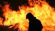 آتش سوزی مهیب در نیروگاه شهید مدحج زرگان اهواز