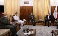 دیدار امیرعبداللهیان با فرماندهان ارتش/ وزیر امور خارجه به امیران ارتش چه گفت؟