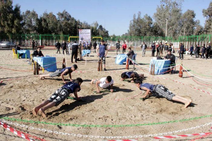 رقابتهای زورخانه ای ساحلی کشور در زاهدان آغاز شد