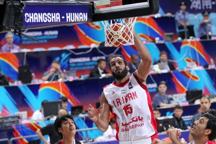 حدادی بهترین بازیکن دیدار ایران با فیلیپین شد
