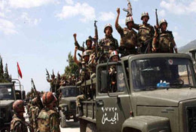 دهها تروریست فعال در سوریه خود را تسلیم نیروهای ارتش کردند