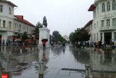 کاهش دمای هوا و بارندگی در گیلان