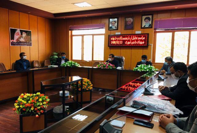 تجلیل از فرهنگیان بازنشسته و خانواده شهدای دانش آموزی چرداول