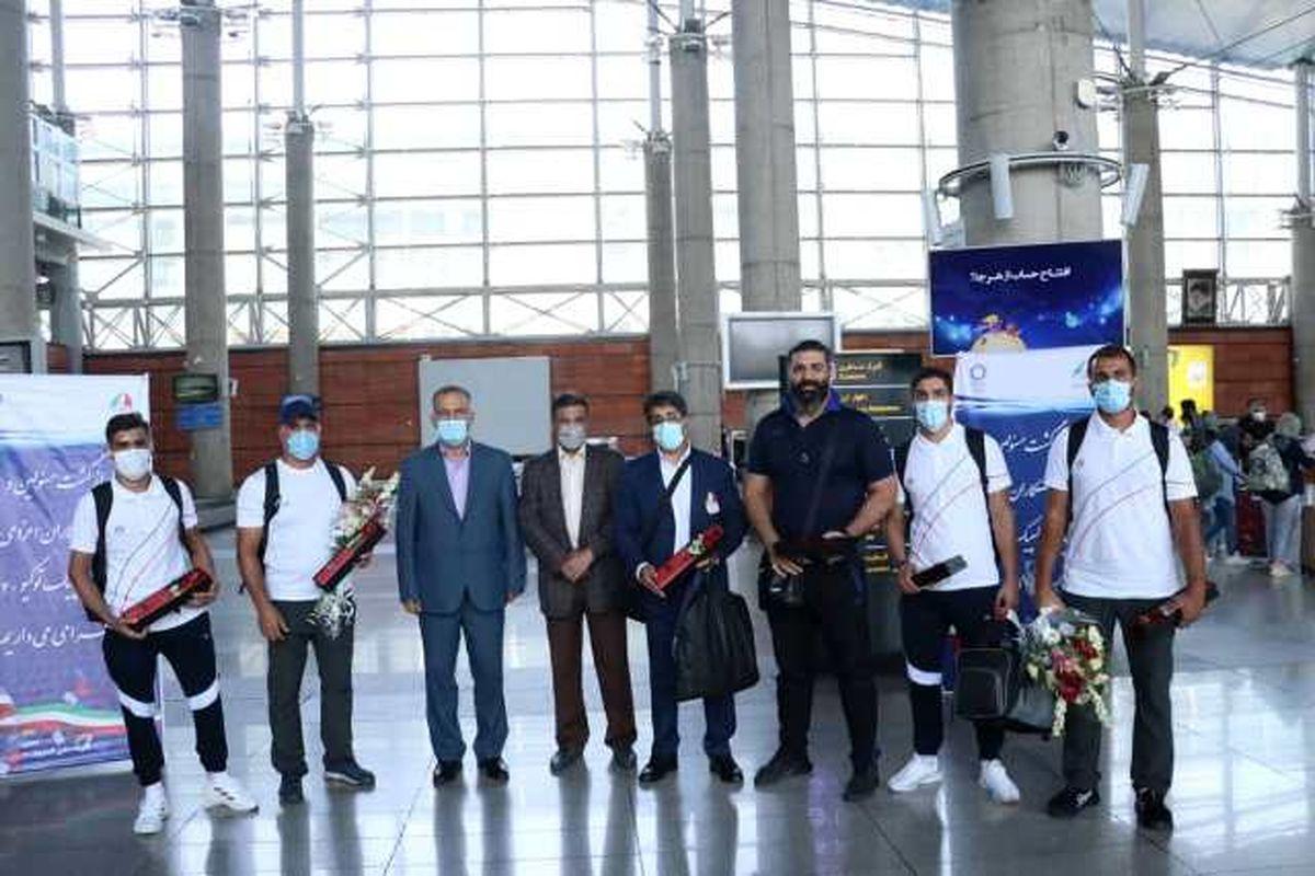 تیمهای ملی بوکس و تیراندازی با کمان به کشور بازگشتند